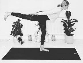 Amy Yogabird warrior 3